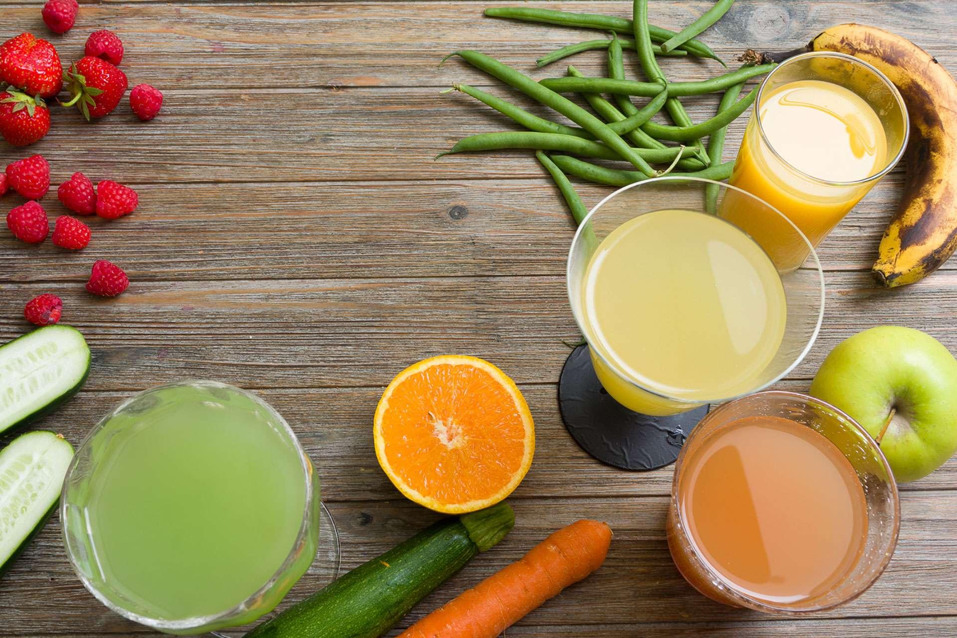 Frutta e ortaggi per estratti di succo o centrifughe